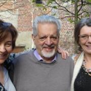 Avec Paul Dennison, créateur du Brain Gym et Véronique.