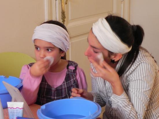 avec Jessica et sa fille