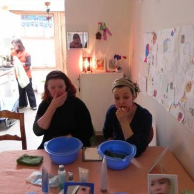 Ateliers soins de peau et Auto drainage du visage