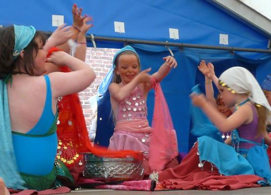 Atelier Danse Egyptienne à l'école